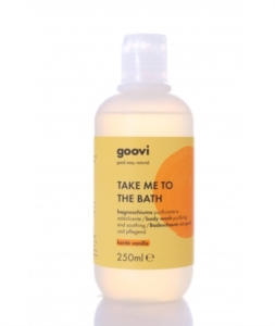Goovi TAKE ME TO THE BATH bagnoschiuma purificante addolc. karité vanilla 250ml