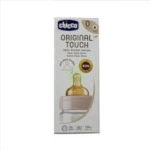 Chicco Biberon Original 150ml Touch 1 Foro Girl Con Tettarella In Caucciu